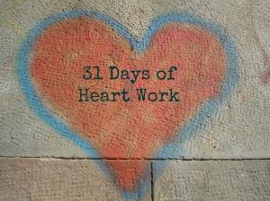 31daysheartwork